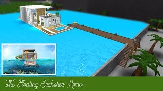 Roblox Bloxburg | Floating Seahorse Luxury Home