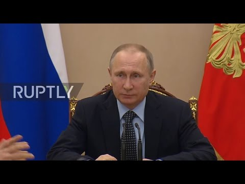 Russia: Putin gathers Security Council after US missile strike on Syria