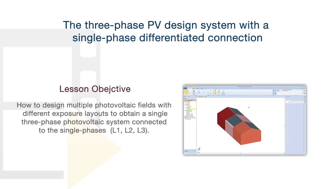 Solarius Pv Tutorial Connecting A Three Phase Pv System To Single Phases Acca Software Youtube