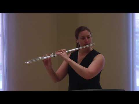 High School Lyrical Etude 2017 - flute
