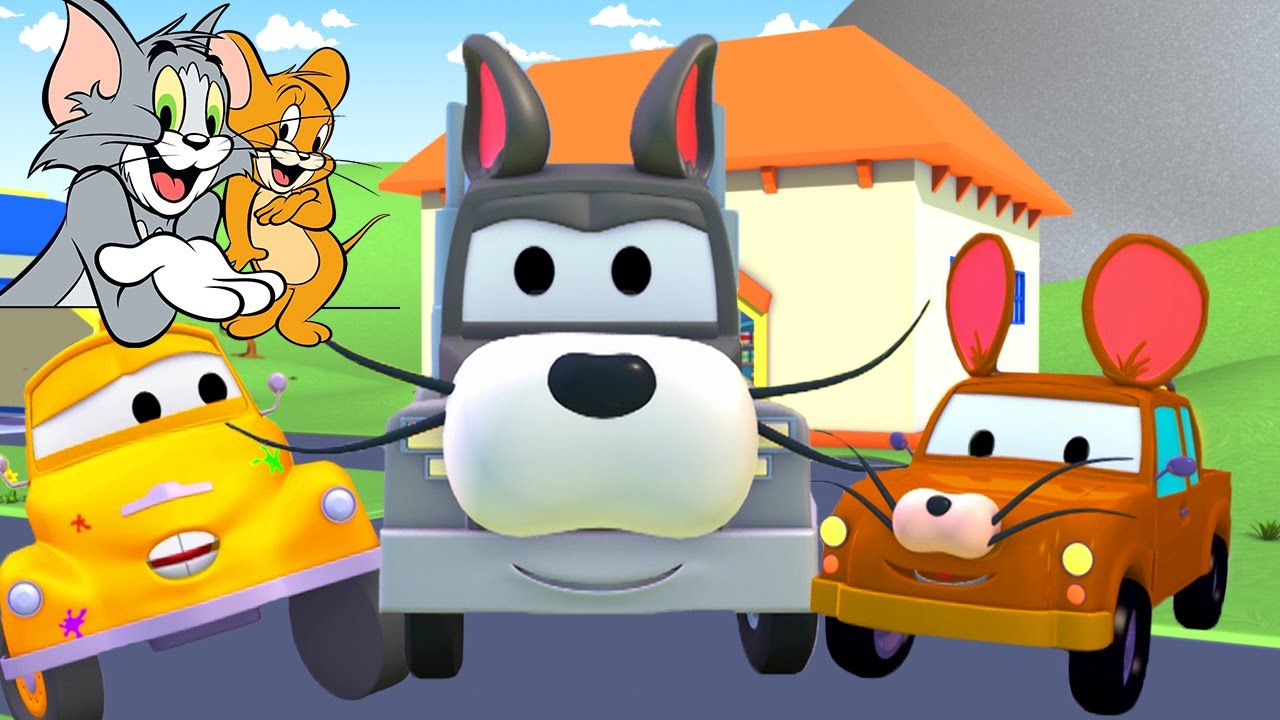 tom-the-tow-truck-s-paint-shop-tom-jerry-truck-cartoons-for-kids