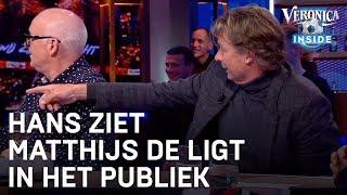 Hans ziet Matthijs de Ligt in het publiek | VERONICA INSIDE