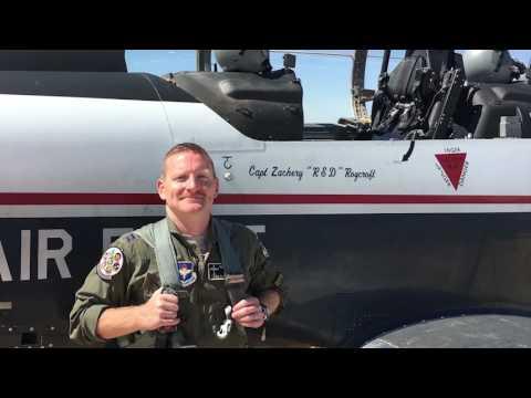 Brig. Gen. Cherrey discusses pilot retention and training