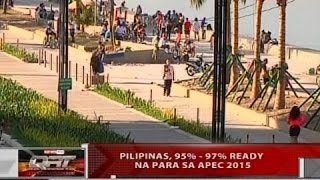 QRT: Pilipinas, 95%-97% ready na para sa APEC Summit 2015