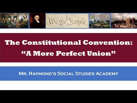 Constitutional Convention for U.S. History Classes
