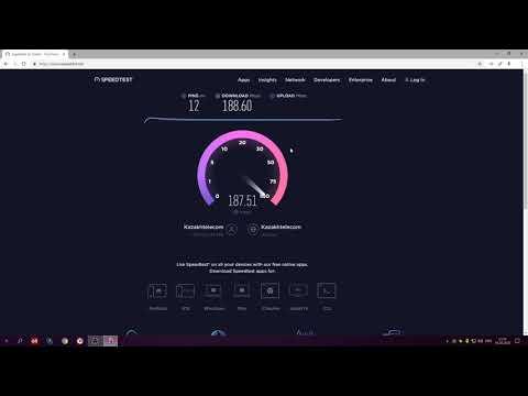 Тест скорости интернет ID NET в 2020 году \ сравниваем с интернет дома Beeline \ Усть-Каменогорск