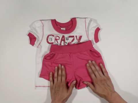 Женский комплект Селфи оранжевый (шорты) - Одежда из Иваново - YouTube