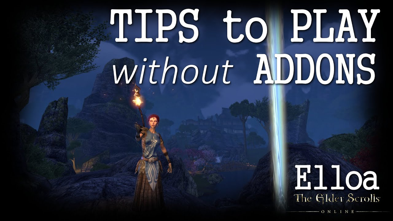 ESO - Tips to play without addons (for Console and PC/Mac players)