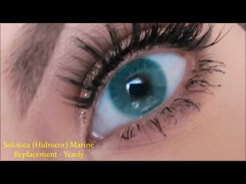 Solotica Lenses - Marine Hidrocor