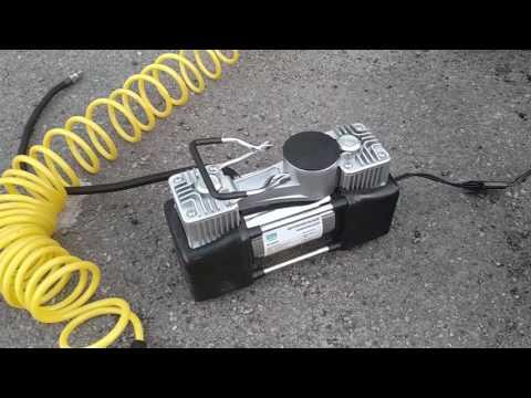 Автомобильный компрессор Vitol КА-В12121 \'\'Вулкан\'\' двухцилиндровый
