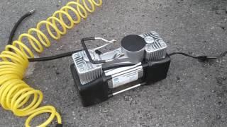 Автомобильный компрессор Vitol КА-В12121 ''Вулкан'' двухцилиндровый