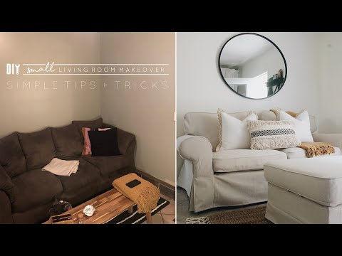 DIY Small Living Room Makeover