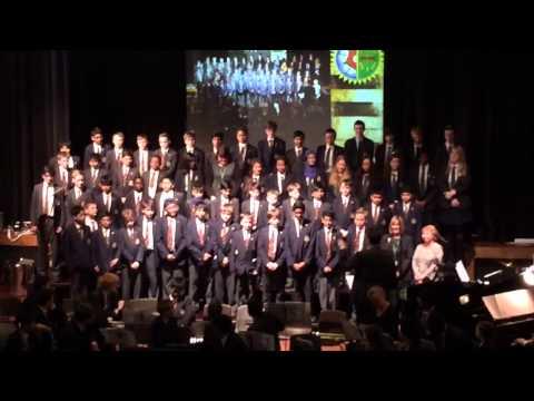 Queen Mary's grammar school/academy choir this old man