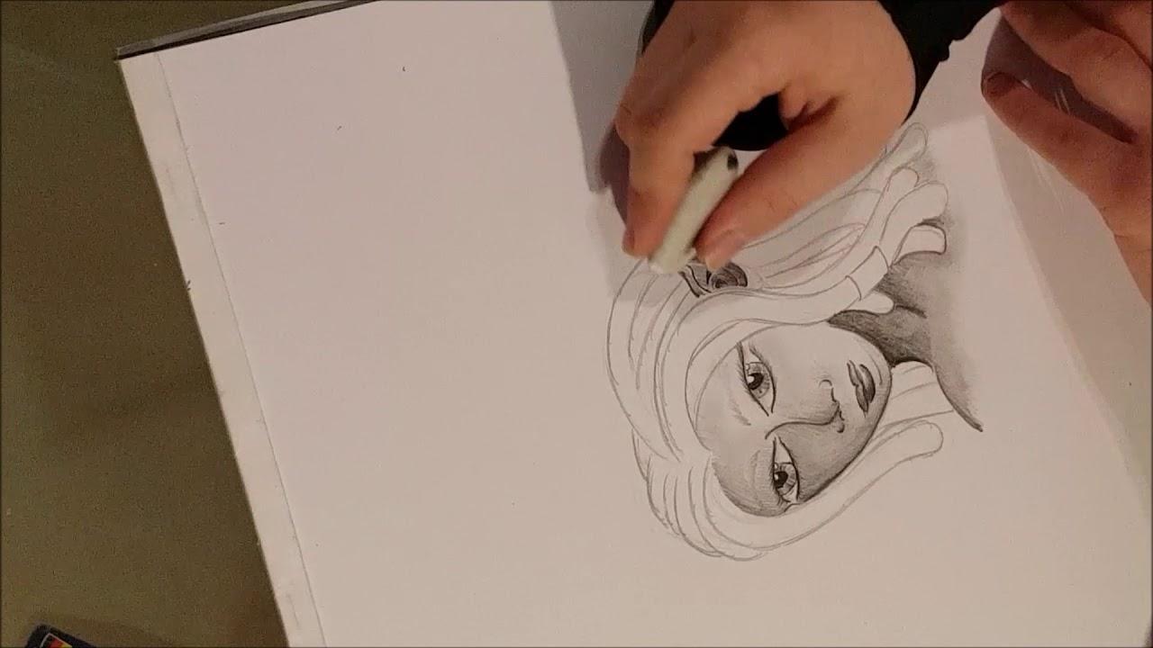 Elfe Zeichnen Mit Eisfuchs Youtube