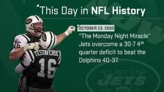 The Jets' Monday Night Miracle | This Day In NFL History (10/23/2000)
