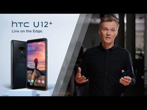 Bigger, Bolder and Edgier. Introducing the HTC U12+.