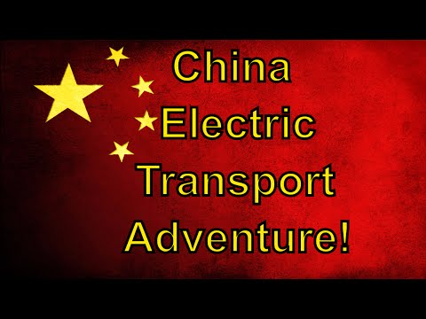 China Electric Adventure! State of EV Transportation in China April 2016