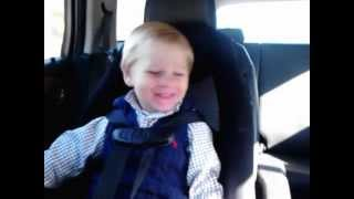 "Logan singing Kings of Leon ""Charmer"",  2 years old"