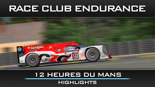 CZO Racing by F1-Liga.cz - 12 Heures du Mans - Race Club Endurance Highlights
