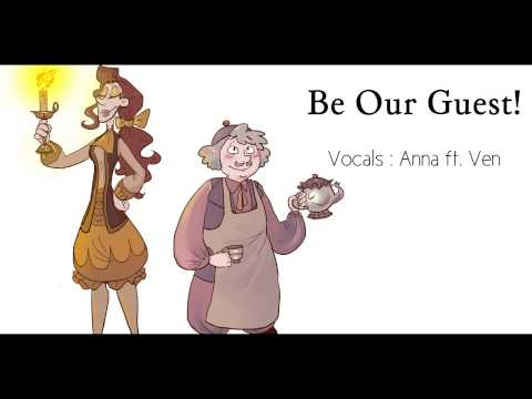 Be Our Guest female versigenderbender 【Anna  ft Ven】『Beauty And The Beast』