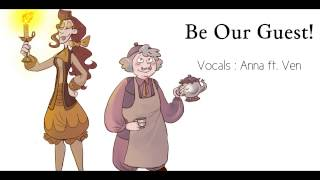 be our guest female versiongenderbender 【anna ft ven】『beauty and the beast』