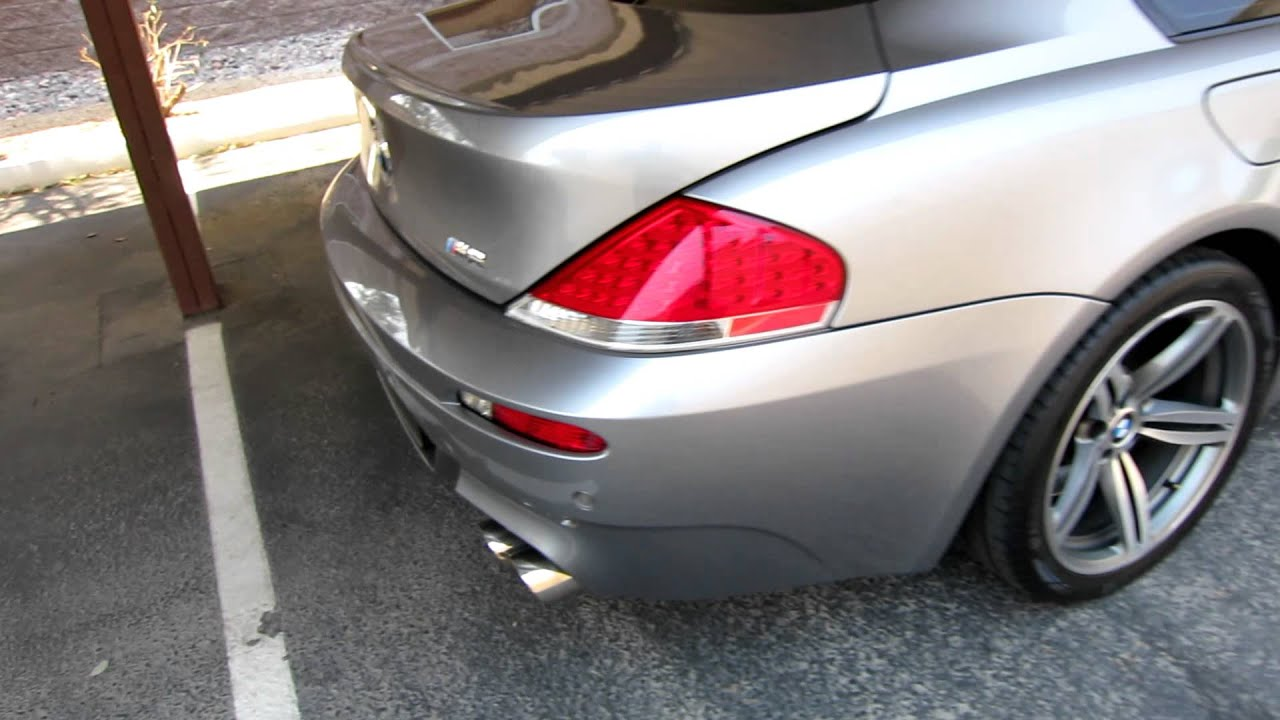 2006 BMW M6 SMG Custom Exhaust For Sale Joey 4802055880  YouTube