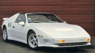 Худшие Спортивные автомобили: Pontiac Fiero