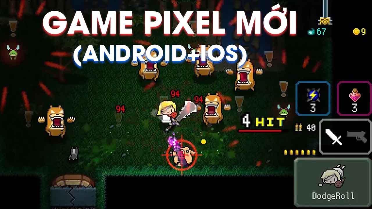 RASPBERRY MASH : Game Pixel Sinh Tồn Giống Soul Knight và Elemental Dungeon