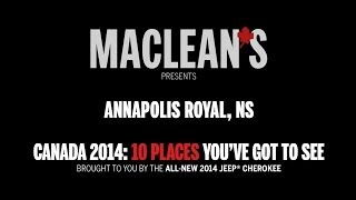 annapolis royal ns presented by maclean s