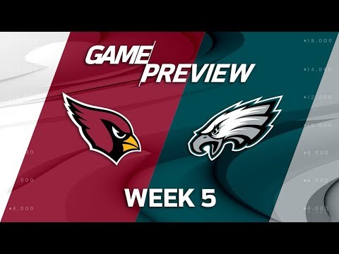 Arizona Cardinals vs. Philadelphia Eagles | Week 5 Game Preview | Move the Sticks