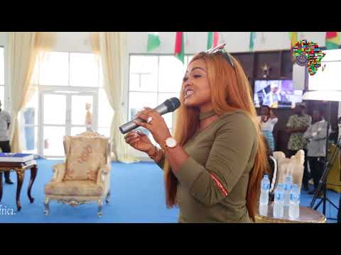 Nollywood Stars Storm Rochas Foundation College of Africa