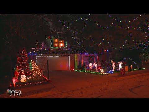 Round Rock teen programs light show for charity, neighbors