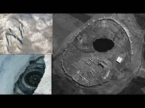 New Surprising Secret Revealed Flying Saucer UFO Revealed In Melting Antarctica Ice
