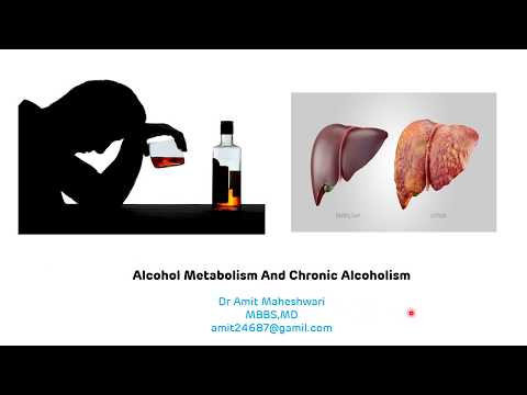 Alcohol Metabolism || Chronic Alcoholism || Biochemical Changes Occurring Due to Alcohol