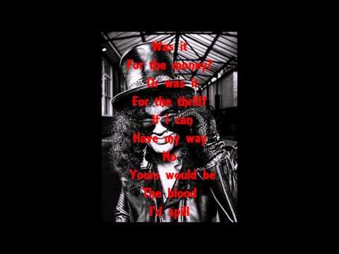 Slash feat. Myles Kennedy & The Conspirators - Beneath The Savage Sun (Lyrics)