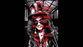 Slash feat. Myles Kennedy & The Conspirators - Beneath The Savage Sun (Lyrics)