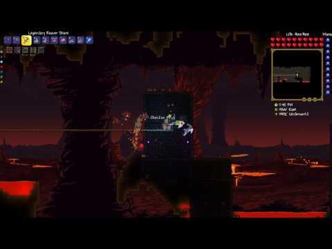 Terraria 1.3.4.4 (Expert Mode) s3e22 - Опасное строительство в аду
