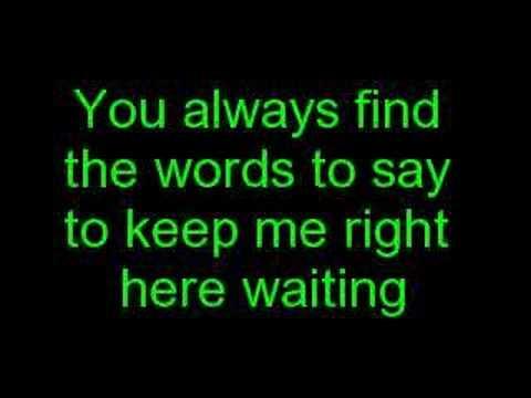 Staind-Right Here Lyrics