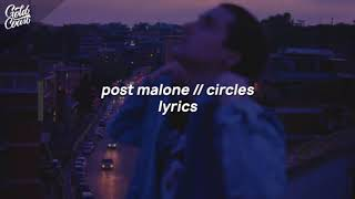 Post Malone- Circles (instrumental with hook + Lyrics)