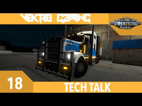 American Truck Simulator - 18 - Tech Talk [Kenworth W900]