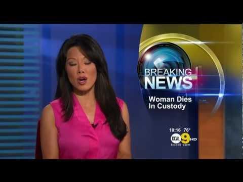 Sharon Tay 2012/08/30 KCAL9 HD; Pink top