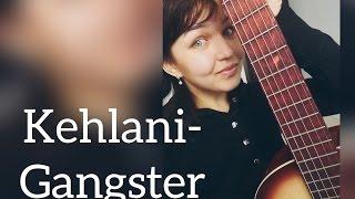 kehlani-Gangsta cover guitar кавер гитара,музыка из фильма отряд самоубийц,девушка поет и играет