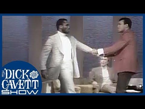 Joe Frazier Walks Out of the Studio | The Dick Cavett Show