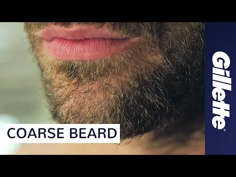 How to Shave Coarse Facial Hair | Gillette