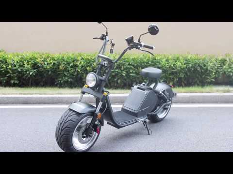 Rooder big wheel electric scooter with 3000w 20ah 70kmh EEC COC VIN license plate