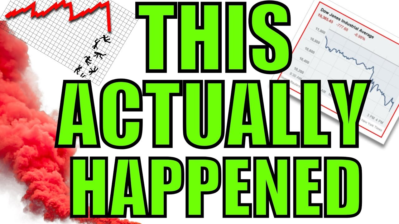 What The 2008 Stock Market Crash Felt Like – First Hand Experience