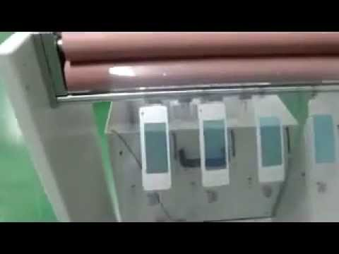 Automatic screen printing machine for phone case of Panasonic
