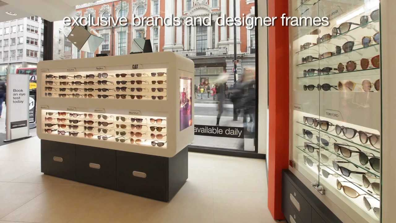 44b5ddaa0b Vision Express Oxford Street East Flagship Store Development - YouTube