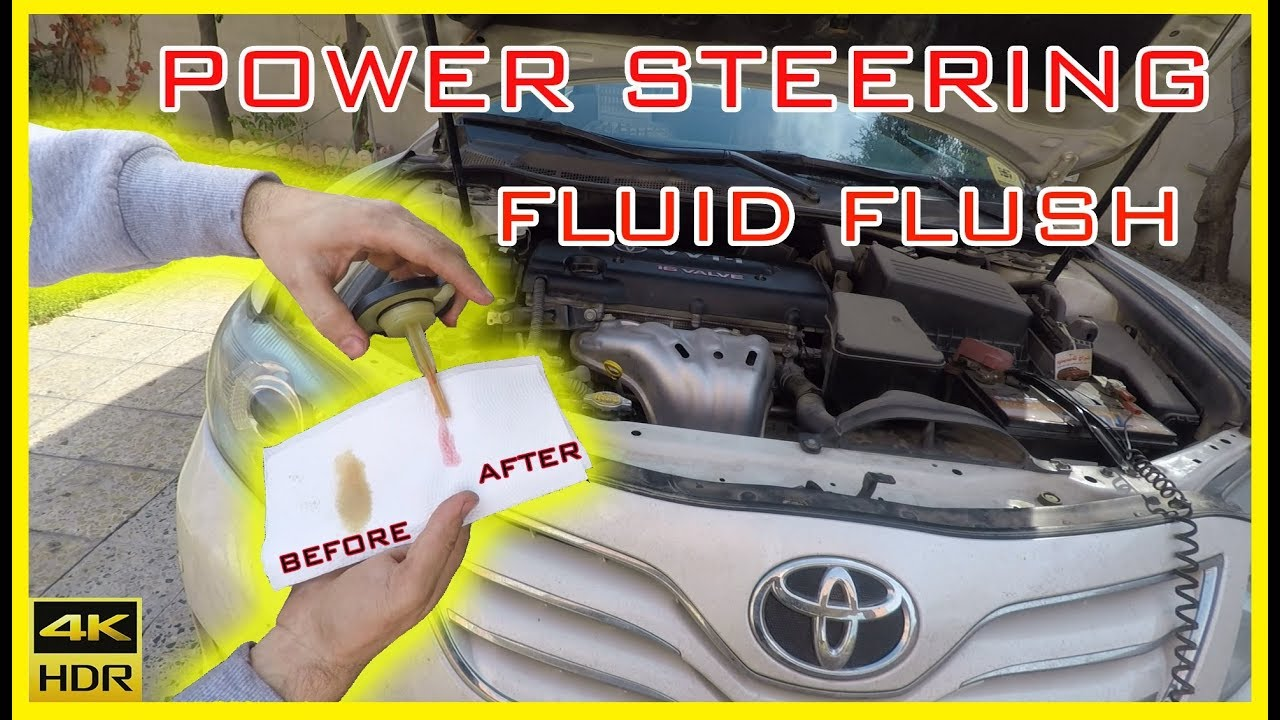 Toyota Camry Steering Fluid Complete Flush