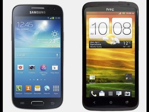 Galaxy S4 Vs Htc One X Samsung Galaxy S4 Mini...